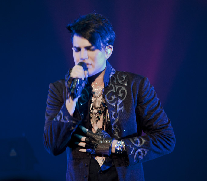 Adam Lambert, Cleveland, Glam Nation 2010