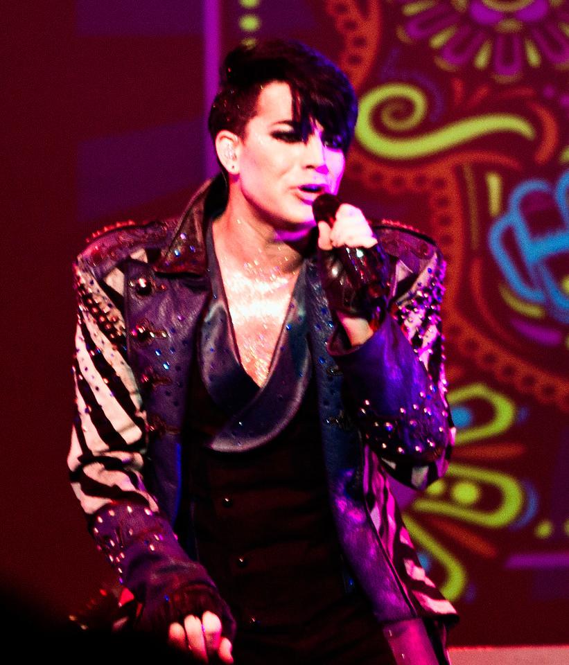 Adam Lambert, Cleveland, Glam Nation 2010