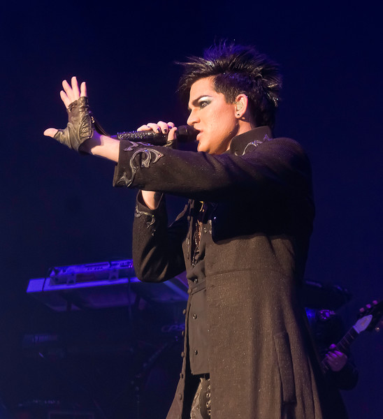 Adam Lambert, Glam Nation, Hawaii - Blaisdell Center, 10/25