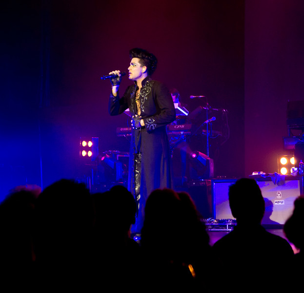 Adam Lambert, Hard Rock Live, 9/20/10