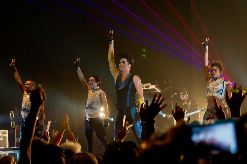 Adam Lambert, Hard Rock Live, 9/20/10