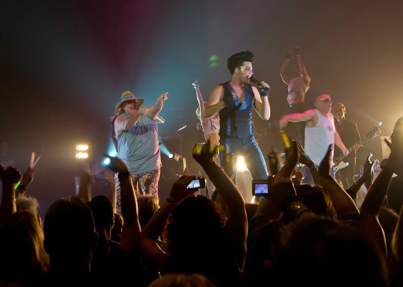 Glam Nation 2010, Hard Rock Live