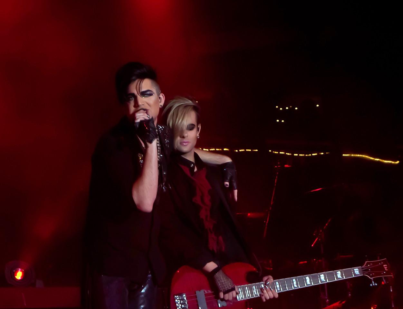 Adam Lambert, Glam Nation 2010, Rockford On The Waterfront