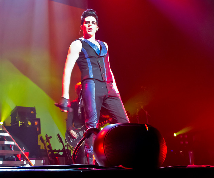 Adam Lambert, Glam Nation, The Pageant, St. Louis 8/8/10