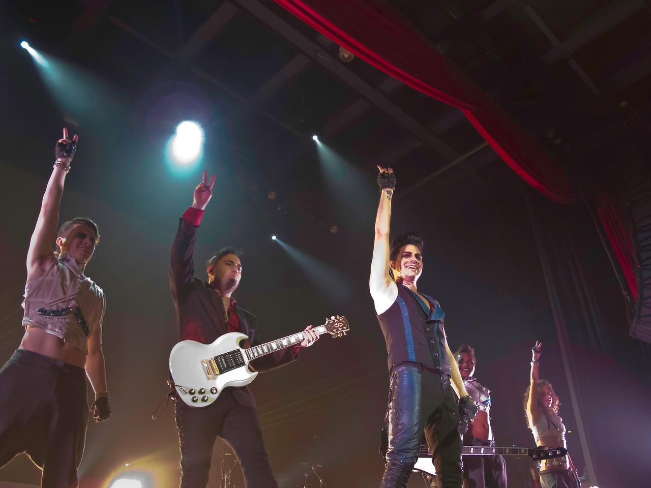 Adam Lambert, Glam Nation, The Pageant, St. Louis 8/8/10