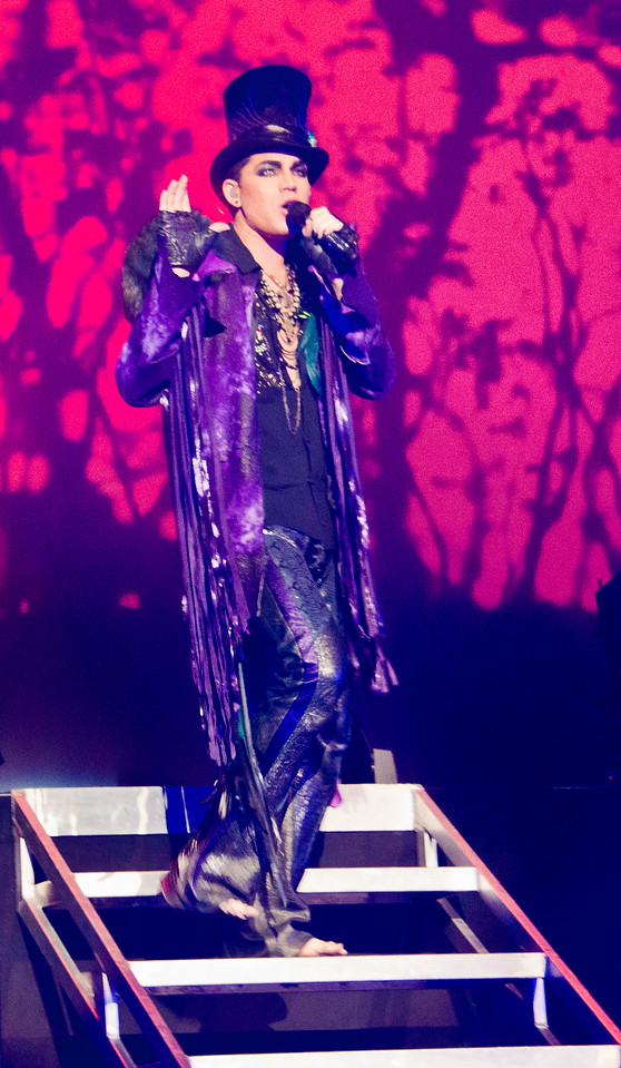 Adam Lambert, Kansas City, 7/15/10