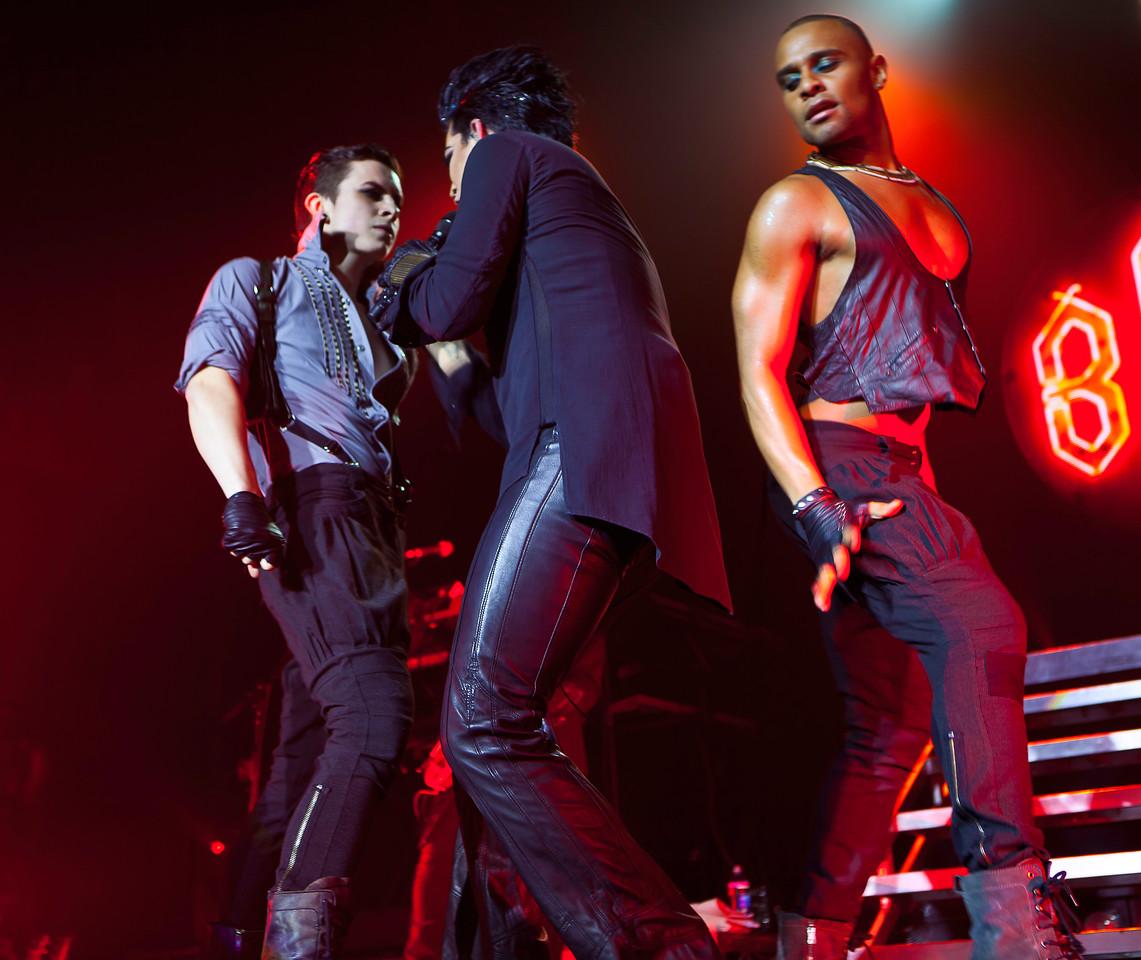 Adam Lambert, Glam Nation 2010, Music Box LA