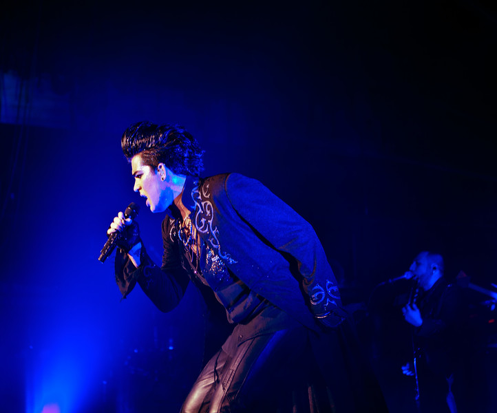 Adam Lambert, Glam Nation 2010, Music Box LA