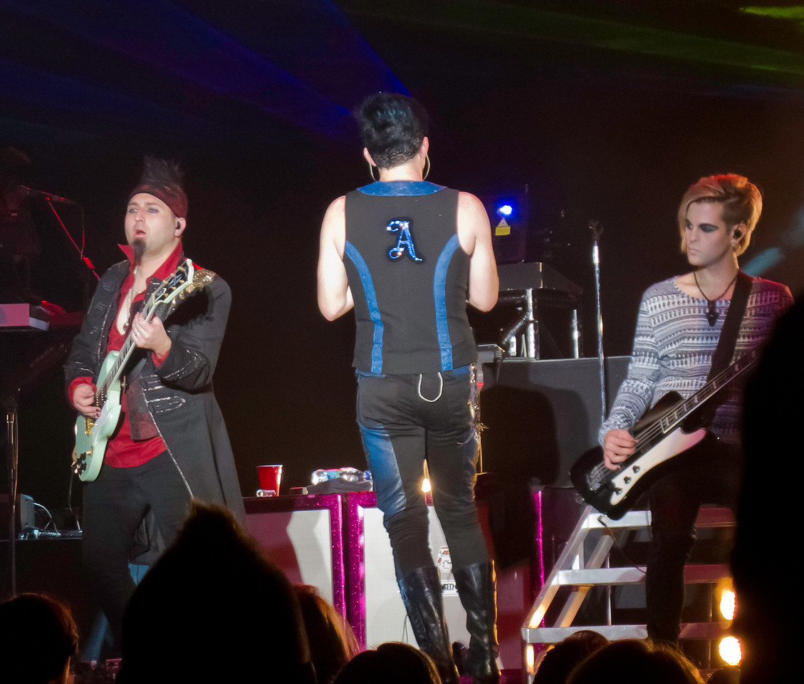 Adam Lambert, Glam Nation 2010, Musikfest, Bethlehem, PA. Only sold-out artist at Musikfest in 2010