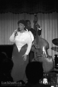 Ella Fitzgerald  Vancouver's Plazazz Showroom, December 9th 1983.
