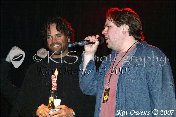 Mike Piazza and Eddie Trunk