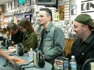 Porcupine Tree In store Signing Barts (Barbieri, Wilson, Harrison, Edwin)