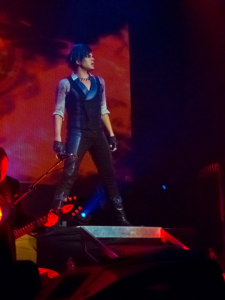 Adam Lambert, Final Glam Nation, Club Nokia LA, 12/16/10