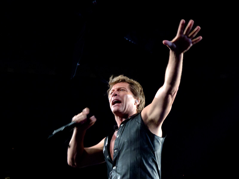 BonJovi played a sold out show at Scottrade Center in St. Louis on May 22, 2011.