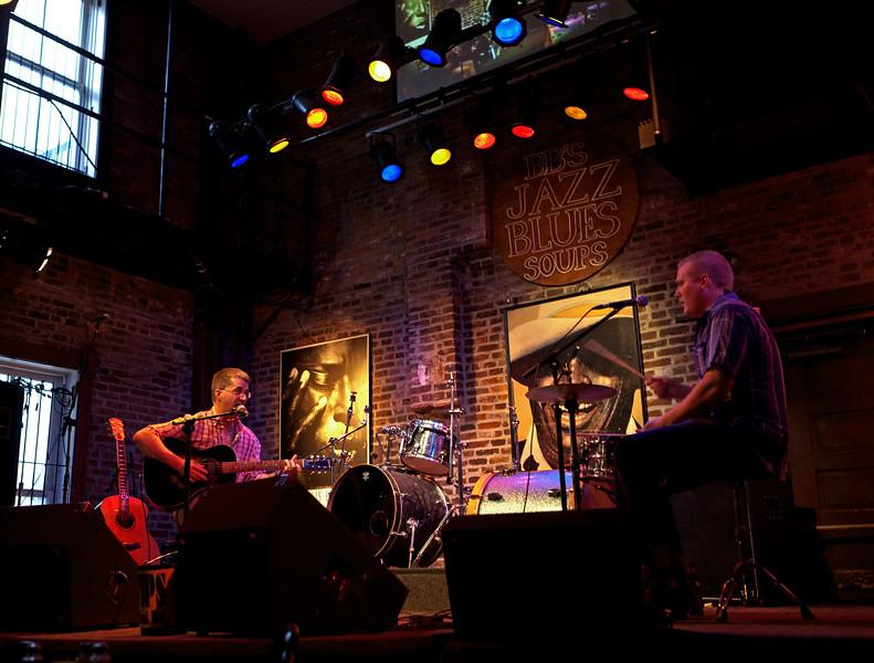 Dave Angle and the Dog Pound Jangle, BB's Jazz, Blues & Soups 4/3/11