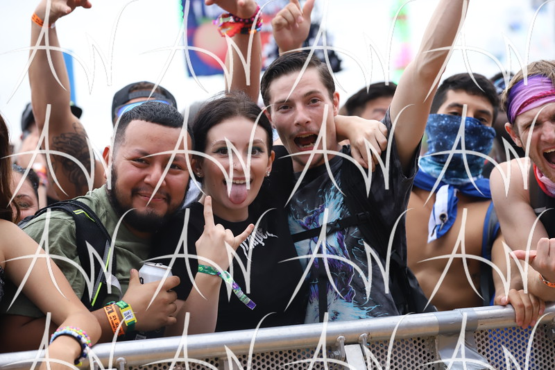 EDC Orlando 2019 - Crowd Photos - Friday