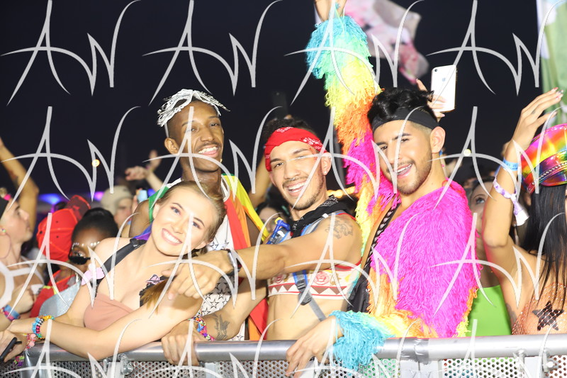 EDC Orlando 2019 - Crowd Photos - Sunday