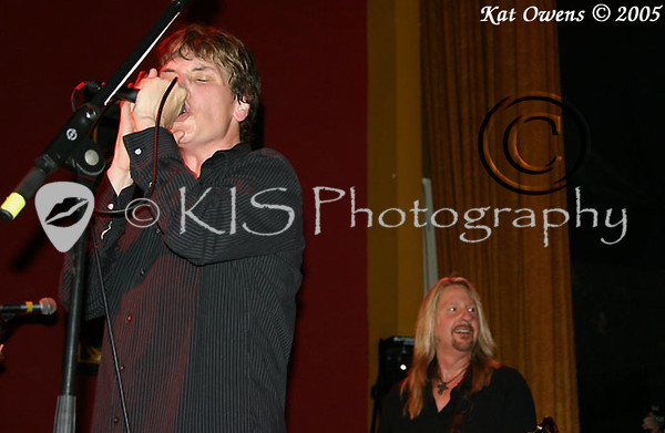 Eric Martin and Jahn Nymann, Mystic Theatre, November 12, 2005