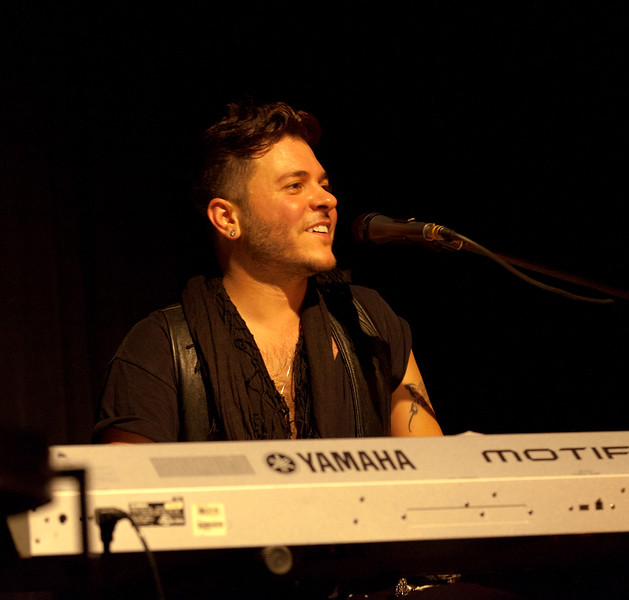 Singer/Songwriter Ferras performs at the Crosby Street Hotel, New York City, July 9, 2011.