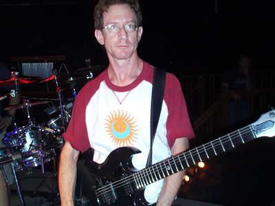 Dave during sound check.
