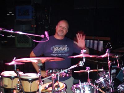 Scott during sound check.