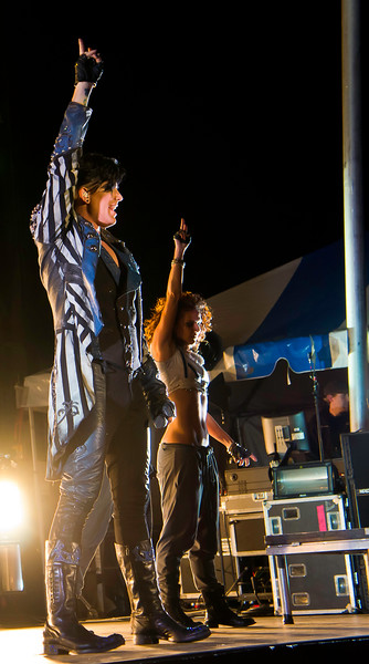 Adam Lambert, Glam Nation 2010, Rockford On The Waterfront