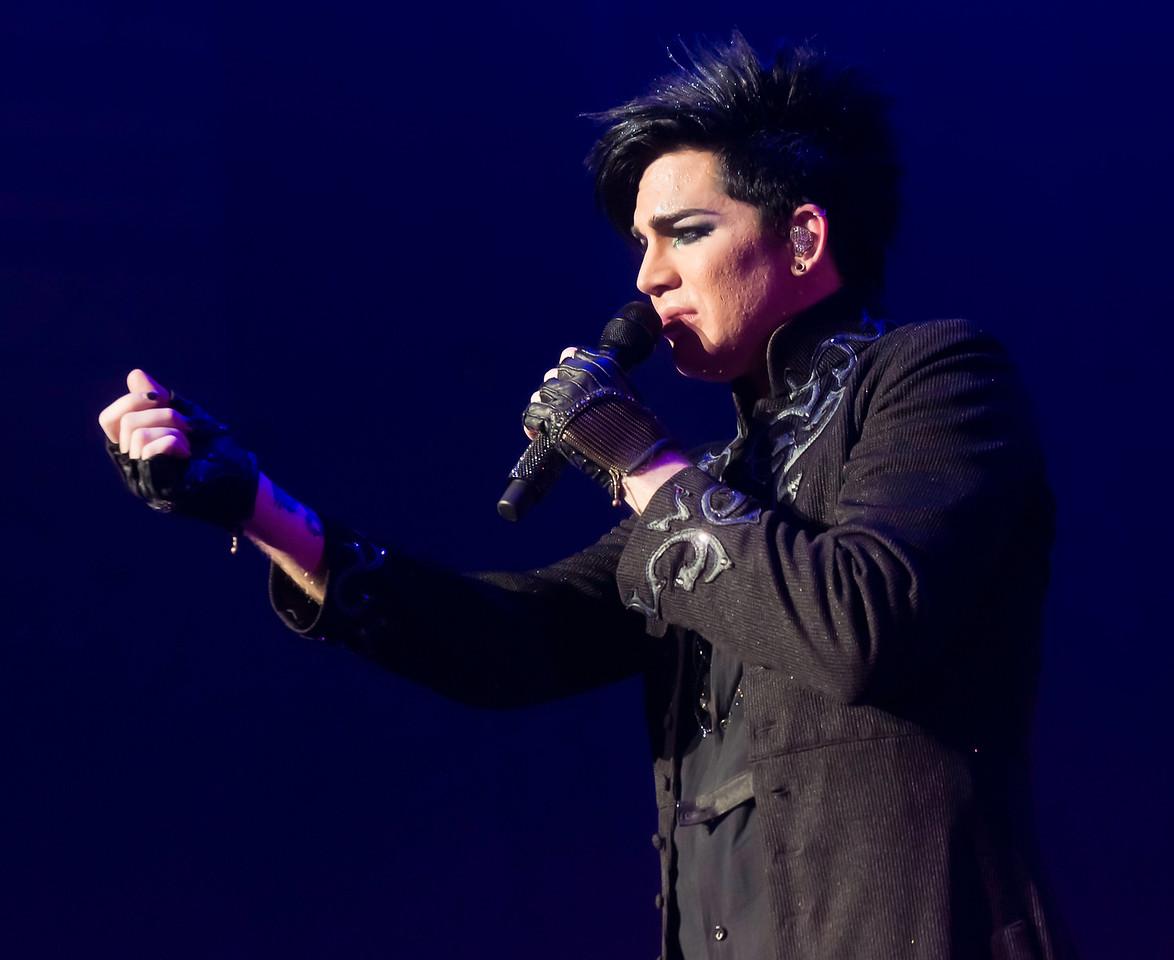 Adam Lambert, Glam Nation, Hawaii - Blaisdell Center, 10/25