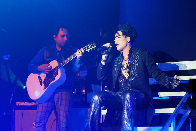 Adam Lambert, Various images from several Glam Nation dates