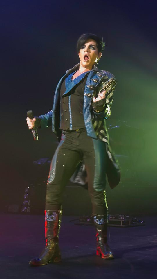 Adam Lambert, Glam Nation, Blaisdell Center 10/26