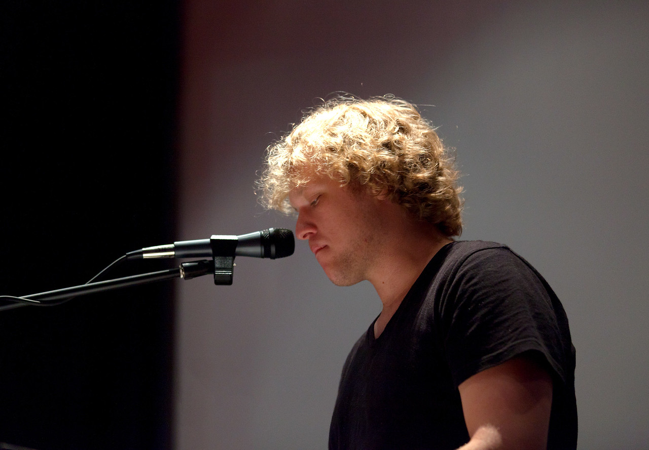 """""""Maitland"""" played an acoustic show at the Crosby Street Hotel in New York City on July 9, 2011."""
