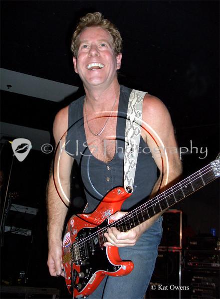 Brad Gillis at the Avalon in Santa Clara, April 2005.