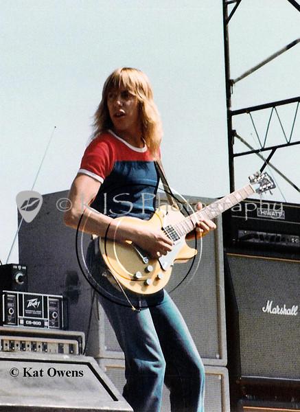 Jeff Watson, 1981 Rocking The Capitol concert, Sacramento, CA.
