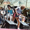 Kelly Keagy and Brad Gillis, 1981 Rocking The Capitol concert, Sacramento, CA.