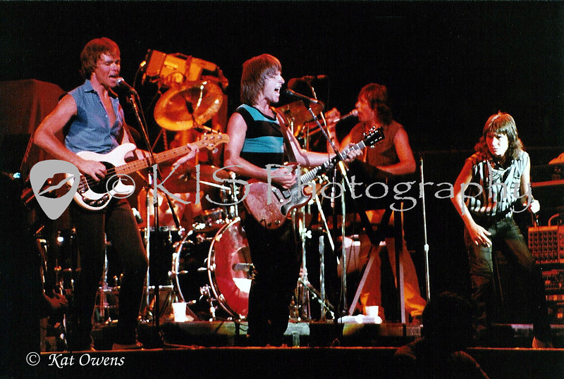 415/EMB, Eric Martin Band in Honolulu, Hawaii at the Blaisdell Arena, 1983.