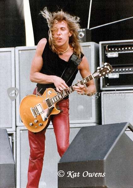 Night Ranger, Jeff Watson at Mountain Aire 83 in Angels Camp, CA