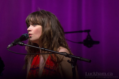 Zooe Deschanel of She & Him