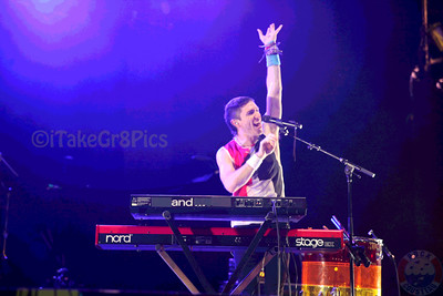 Walk the Moon @ Mizner Park Amphitheater, Boca Raton, FL
