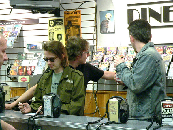 Porcupine Tree Instore Signing Barts