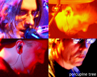 Porcupine Tree's official lineup.  Steven Wilson, Gavin Harrison, Colin Edwin and Richard Barbieri.