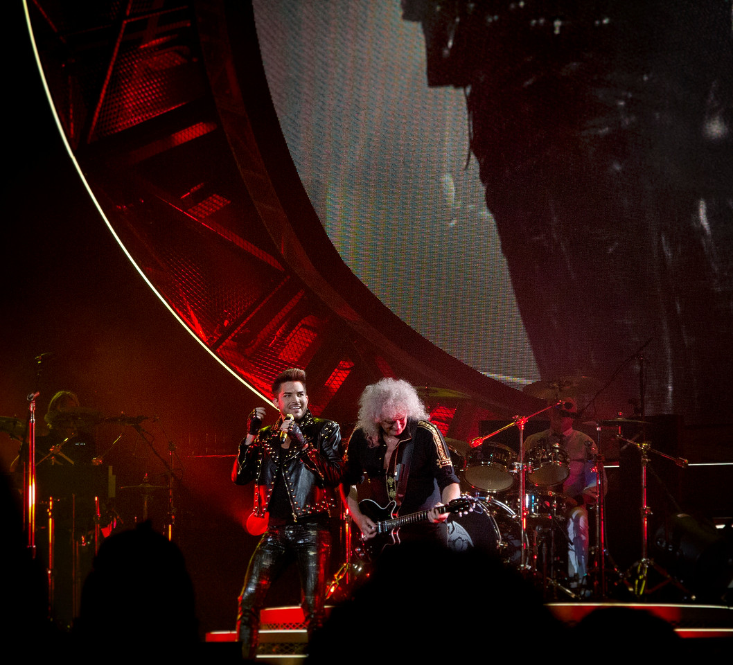 Queen + Adam Lambert, United Center, Chicago, Illinois, June 19, 2014