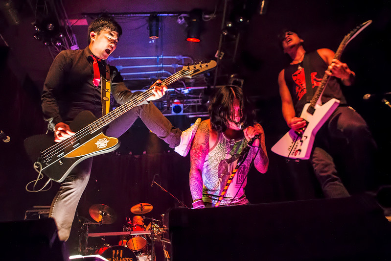 The Slants @ The Alhambra Theater in Portland, OR