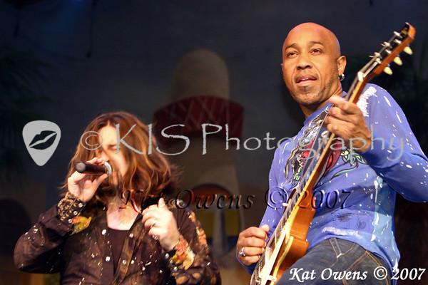 Aaron Hagar and Vic Johnson