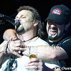 Michael Anthony and Aaron Hagar