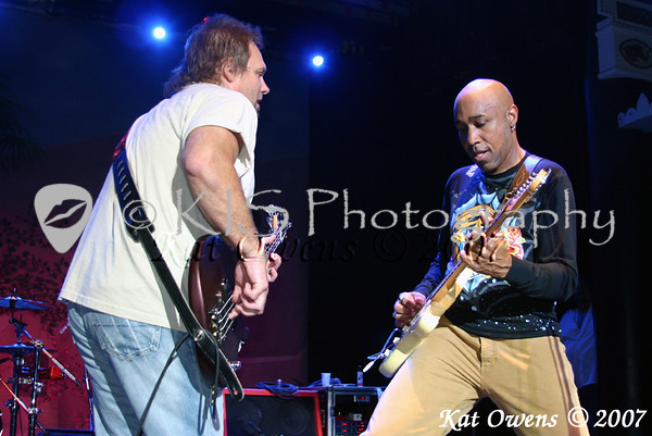 Michael Anthony and Vic Johnson
