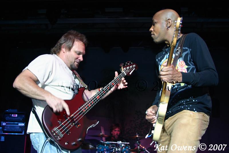 Michael Anthony, David Lauser, Vic Johnson