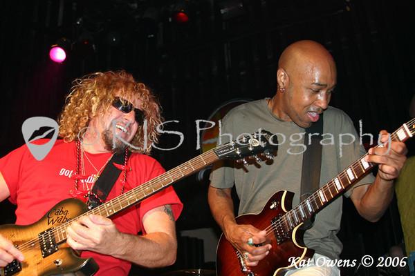 Sammy Hagar & Vic Johnson, Cabo Wabo Cantina, Sammy Cruise 2006