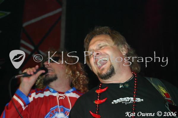 Sammy Hagar & Michael Anthony, Cabo Wabo Cantina, Sammy Cruise 2006