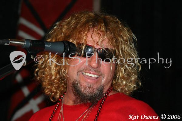 Sammy Hagar, Cabo Wabo Cantina, Sammy Cruise, 2006