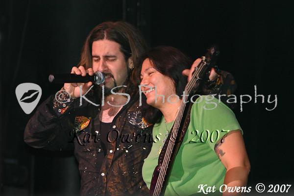 Aaron Hagar and Mona