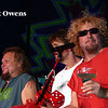 Michael Anthony, David Lauser and Sammy Hagar, Tahoe, April 29, 2005.